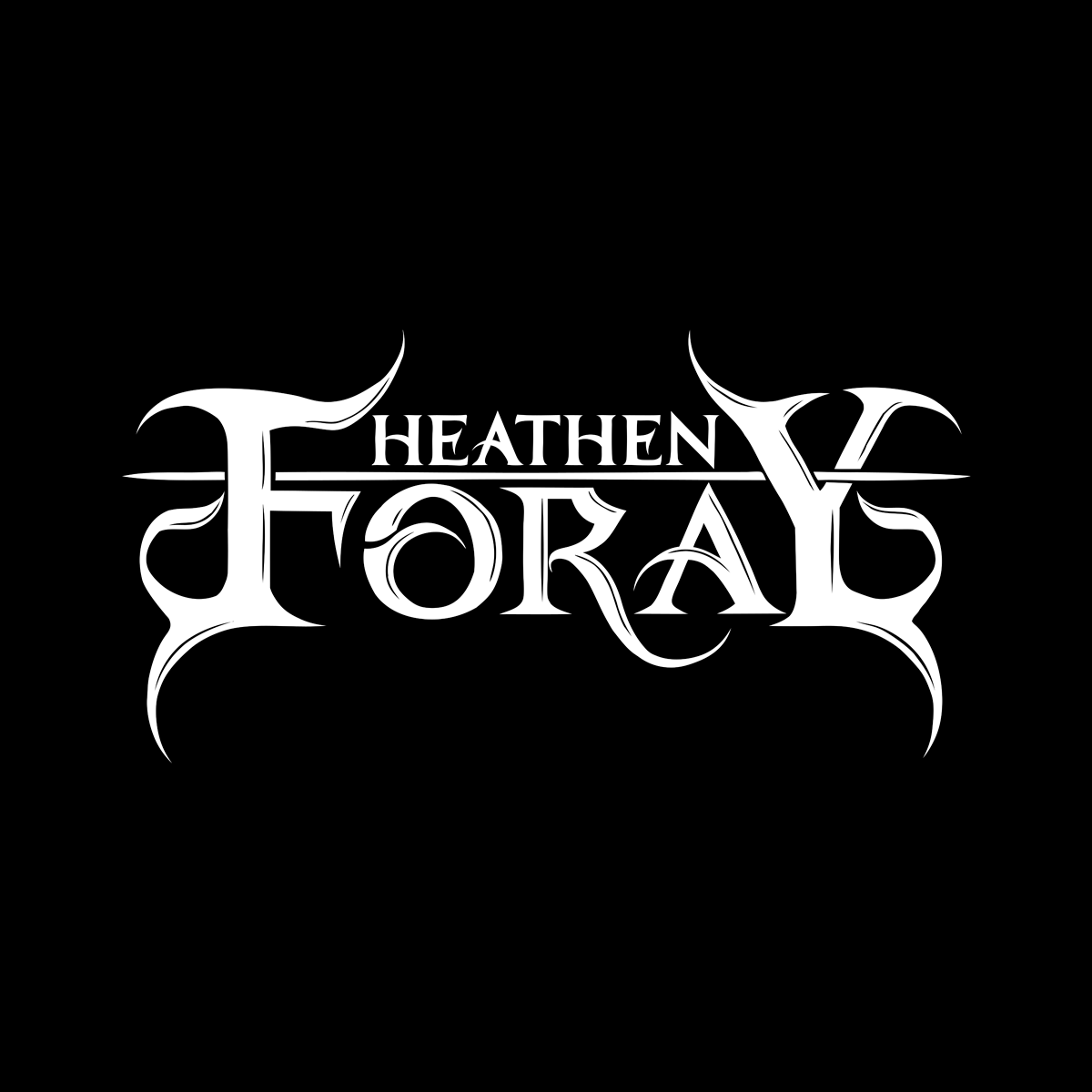 The new logo of Heathen Foray